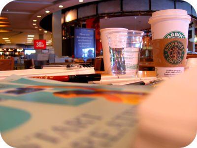 Starbucks-ing